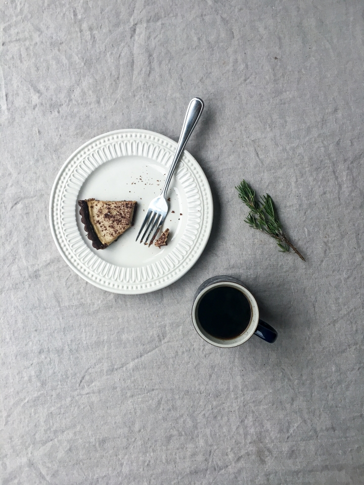piece with coffee